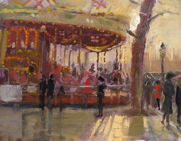 Carousel Golden Llight