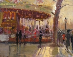 Carousel Golden Llight